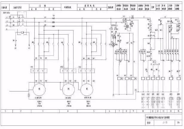 电气二次原理图中dmp是什么_什么是电气原理图